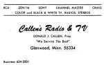 callen's tv